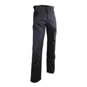 Pantalon de travail Ceinture resserrable Ciment