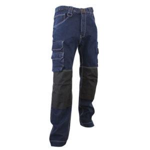 Jeans Denim extensible - poches genouillères Jeans Denim extensible - poches genouillères Cordura