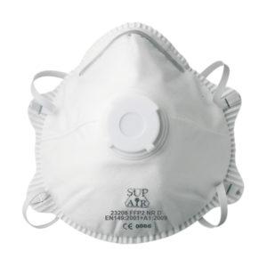 Masque Coque Valve FFP2 NR D SL - Boite de 10