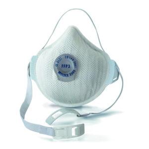 Masque anti-poussières FFP3 NR - Boite de 5