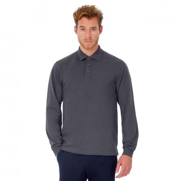 Polo à manches longues 100% Coton