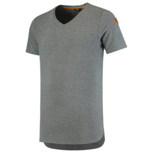 T-shirt Premium en Jersey Col en V