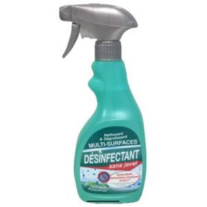 Nettoyant désinfectant dégraissant pour surfaces